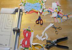 Basteln der Bibi und Tina Kindergeburtstags Dekoration