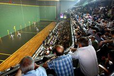 The Galarreta Fronton in Hernani #Sport #SanSebastian #Euskadi
