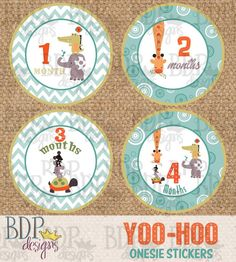 Hey, I found this really awesome Etsy listing at https://www.etsy.com/listing/204210881/yoo-hoo-onesize-month-stickers-4