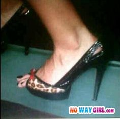 she knew these shoes were too small-  Ha -like were they on sale or something?