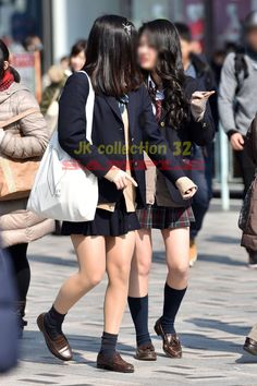 Brown Loafers, Knee Boots, Punk, Asian, Legs, Women, Style, School, Swag