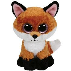 Ty Beanie Boos Slick The Brown Fox Plush Listing in the Ty Beanie Babies,Beanies & Beanbag,Dolls & Bears Category on eBid United States Ty Beanie Boos, Beanie Babies, Ty Babies, Baby Kids, Fox Kids, Big Eyed Stuffed Animals, Fox Stuffed Animal, Plush Animals, Cute Animals