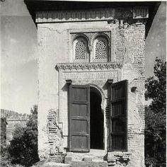 El Oratorio o Mihrab en los jardines del Partal