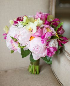 Pretty pink bouquet | Patricia Lyons Photography