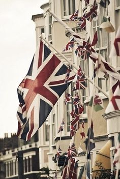 A touch of national pride in London