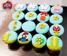 ¡Cupcakes de Mario Bross!
