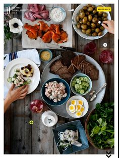 Smorgasbord --Inspiration for a Swedish dinner party