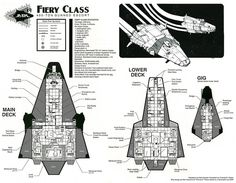 "This is a reconfiguration of the layout I did for issue#2 of the MegaTraveller Journal, detailing the particulars of the Fiery class close escort which was first described in GDW's ""Traders and Gun..."