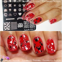 Nails Inspired: Unhas de Minnie