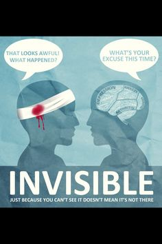 Invisible illness. #Spoonies