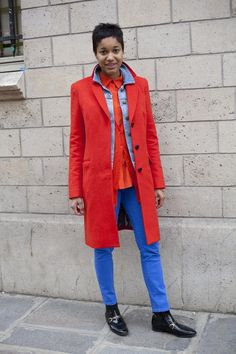 Bright layered fall outfits and more from blogger  Tamu McPherson. Come check out her best street style outfits here!