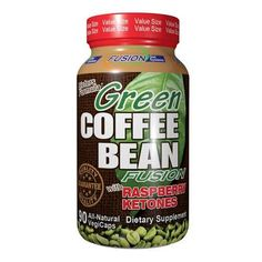Fusion Diet Systems Green Coffee Bean Fusion With Raspberry Ketones (90 Veg Capsules)