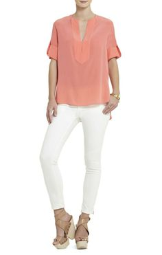 Love the color of the blouse