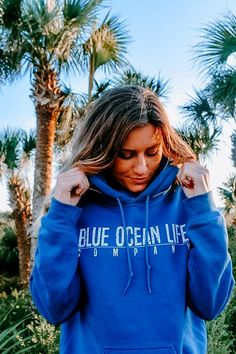 We find it incredible that someone who lived thousands of years ago is so much wiser than some of today's most brilliant minds. We believe that simplicity is the key to happiness and is expressed in our Simple Hoodie. This cozy hooded sweatshirt is soft and stylish. Features our simple signature blue line it's perfect for cool evenings on the beach! Made for both men and women.
