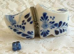 $8.95~~I love Delft Blue--especially little wooden shoes! :)