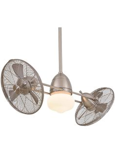 The Minka Aire Gyro Wet, model is a Wet Rated double ceiling fan that can be used for indoor or outdoor use. Dual motors gyro on center to create an unique statement in any decor. Available at Palm Fan Store. Vintage Ceiling Fans, Unique Ceiling Fans, Contemporary Ceiling Fans, Best Ceiling Fans, Outdoor Ceiling Fans, Modern Ceiling, Outdoor Fans, Contemporary Decor, Modern Decor