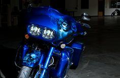 Blue custom wide shot