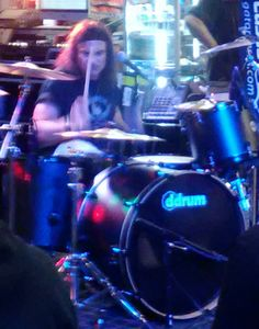 Saw Vinnie Appice play at guitar center 2013!!