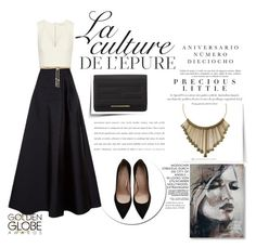 """""""La culture"""" by javorkozima ❤ liked on Polyvore featuring MaxMara, Alice + Olivia, Fendi, Stuart Weitzman, Agent Provocateur, By Zoé, Sinclair and Valentino"""