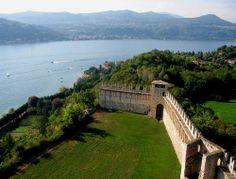 Lago Maggiore: Angera, Rocca Borromea (B side)