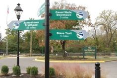 new entrance to The Great Shipyard Park