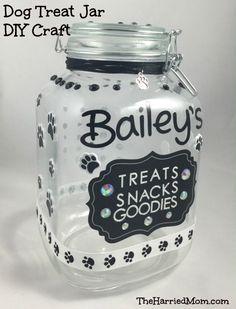 Dog Days of Summer – Easy Doggie Treat Jar Craft #ShareFunshine #ad