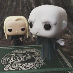 Voldemort and Lucius Funko pop #funko pop #Voldemort #Harry Potter #Slytherin #Funko pop photography