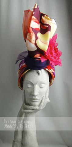 Sweet look from Vintage Designs. #millinery #judithm #hats