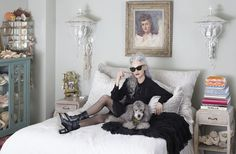 """""""Nowadays you have to go to school for this and that. I couldn't have gone to school for one thing I've done. I just put one foot in front of the other and it worked out. I've worked very hard for it. I would never have thought I'd be sitting here today talking to you about my life."""" —Linda Rodin  { Linda Rodin is a ray of hope: she is the Real Thing, reminding us with everything she does that it's still worth believing in. 