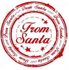 Santa Seals | santa seal more dear santa santa seals santa letters 5