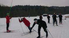 Vg1 idrett - langrennstrening med fokus på staking. Ledet av våre langrennsløpere Fillip, Oscar og Håkon. Hakone, Led