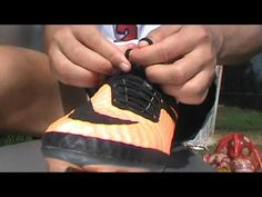 How to Tie Laces For Soccer or Football So They Don't Open! | The Fifa Trainer - YouTube