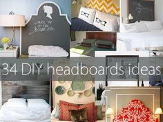storage headboard diy queen - Google Search