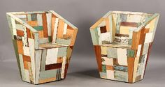 recycled wood patchwork