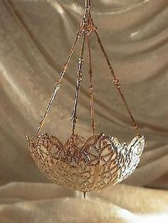dollhouse doll house miniature ELECTRIC TIFFANY CHANDELIER HANGING LAMP  WHITE  | Dolls & Bears, Dollhouse Miniatures, Artist Offerings | eBay!