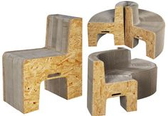 Flexible Love: Muebles hechos con papel reciclado pueden soportar hasta 800 kilos.