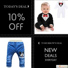 Today Only! 10% OFF this item.  Follow us on Pinterest to be the first to see our exciting Daily Deals. Today's Product: Mr. Gentleman Baby Romper Buy now: https://small.bz/AAcpu0m #musthave #loveit #instacool #shop #shopping #onlineshopping #instashop #instagood #instafollow #photooftheday #picoftheday #love #OTstores #smallbiz #sale #dailydeal #dealoftheday #todayonly #instadaily