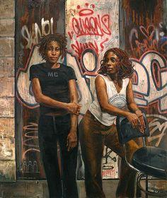 """Queens (Tina and Shana)"" by Tim Okamura"