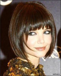2012 Hot Bob Hairstyles Whairstyle-Love but full fringe scares me!