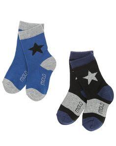 Fede Molo Nitis sokker i 2-pak Molo Strømper og strømpebukser til Børnetøj i luksus kvalitet
