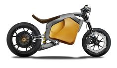 E-Carver electric racing motorcycle concept by Luca Bar