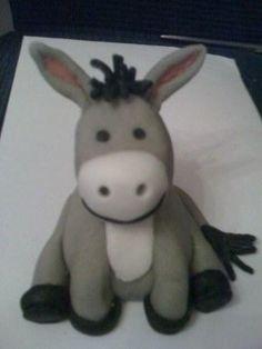 fondant donkey - Google Search