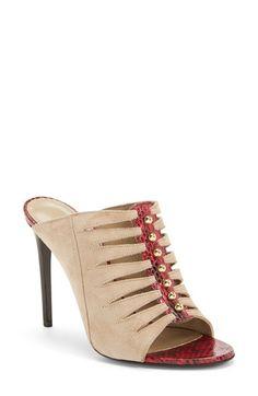 Tamara Mellon Mule Sandal (Women) available at Sexy Heels, High Heels, Shoes Heels, Mule Sandals, Slide Sandals, Heeled Mules, Nordstrom, Footwear, Boots