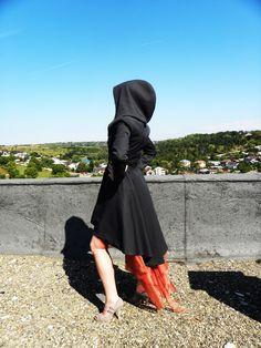 Veste Miranda noir gris marine par LauraGalic sur Etsy