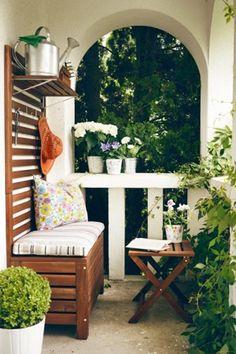 Good idea for small balcony