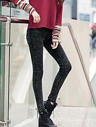 Women's Black Skinny Pants , Bodycon