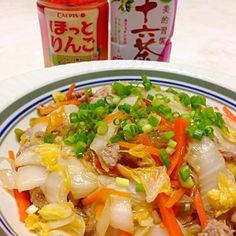 白菜と春雨たっぷりでヘルシー♪♪ - 32件のもぐもぐ - オイスターソースで、白菜と春雨のうま煮 by peko0302