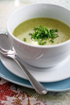 Cream of Broccoli Soup with Coconut Milk Recipe (if you're adding curry paste, make sure it's sans added sugars & sweetners!)