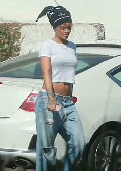 Rihanna out in WeHo Rihanna Style 3be28942eb82