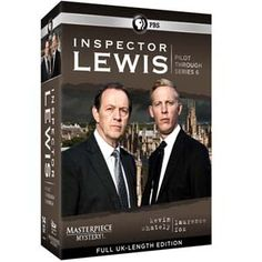 Inspector Lewis: Pilot Through Series 6 at BBC Shop Fans of British mystery writing will love this collection of Inspector Lewis television dramas. Set and filmed primarily in Oxford, England, Inspector Lewis stars Kevin Whately as Detective Inspector Robert Lewis, and Laurence Fox as his cool, calculating partner, Detective Sergeant James Hathaway. Together with Clare Holman as Forensic Pathologist Laura Hobson, they tackle murder and mayhem in the seemingly idyllic academic haven of…